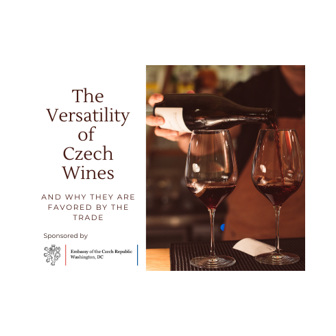 "Webinář ""The Versatility of Czech Wines (And Why They are Favored by the Trade)"""